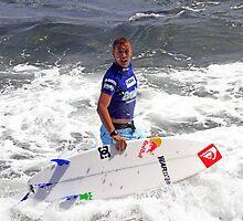 Vasco Riberio, Surfer, Portugal by Noel Elliot