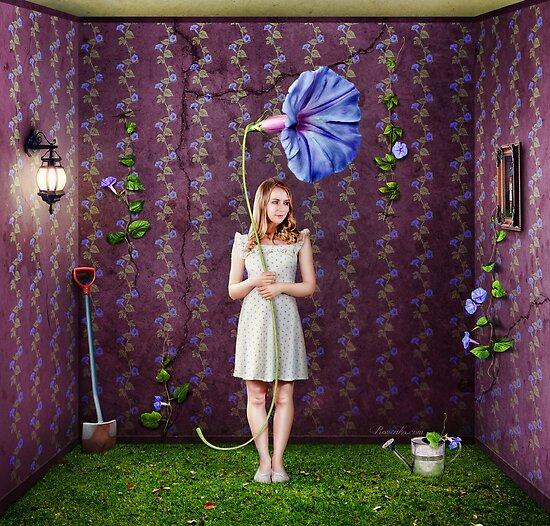 Indoor Gardener by Andrew & Mariya  Rovenko