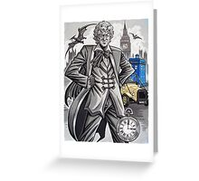 The Third Doctor Greeting Card