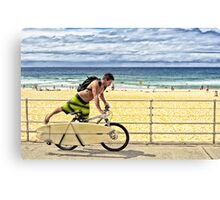 Bondi Moments - On Board Canvas Print