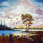 Gull's Playground by Jim Phillips