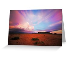 Saltpan Sundowner Greeting Card