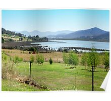 South Franklin in the Huon Valley, Tasmania Poster