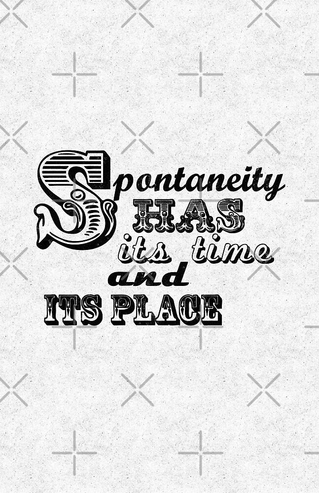 Spontaneity by favoritedarknes
