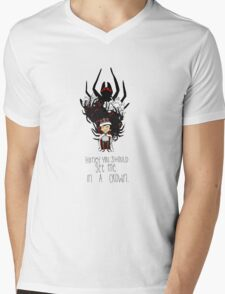 Moriarty: You should see me in a crown Mens V-Neck T-Shirt