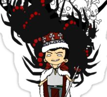 Moriarty: You should see me in a crown Sticker
