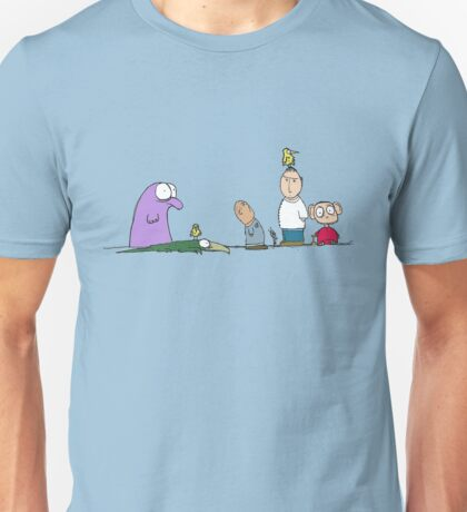 You have a bird on your head Unisex T-Shirt