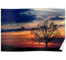 Hector, AR Sunset Poster