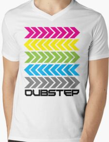 Dubstep arrows (light) Mens V-Neck T-Shirt