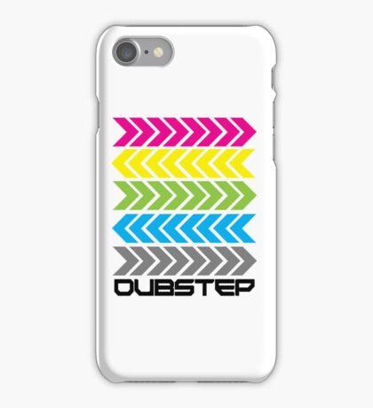 Dubstep arrows (light) iPhone Case/Skin