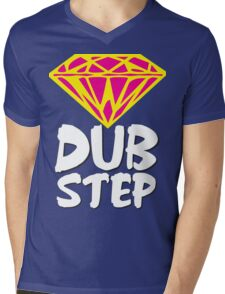 Dubstep Diamond Mens V-Neck T-Shirt