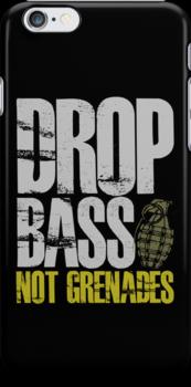 Drop Bass Not Grenades (gray/dark yellow) by DropBass