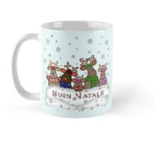 Buon Natale Reindeer Family Mug