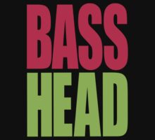 Bass Head (magenta/neon green)  Kids Clothes