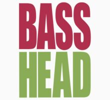 Bass Head (magenta/neon green)  by DropBass