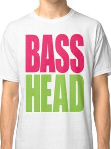 Bass Head (magenta/neon green)  Classic T-Shirt