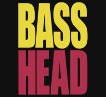 Bass Head (yellow/magenta)  Kids Clothes