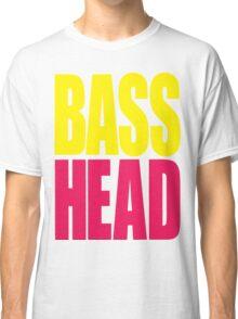 Bass Head (yellow/magenta)  Classic T-Shirt