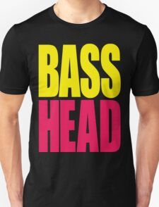 Bass Head (yellow/magenta)  T-Shirt
