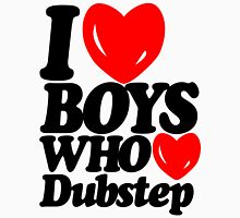 I love boys who love dubstep (light) Womens Fitted T-Shirt