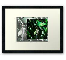 Lady Firefly Framed Print