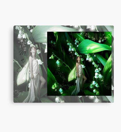 Lady Firefly Canvas Print