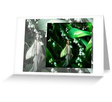 Lady Firefly Greeting Card