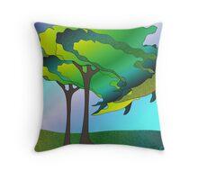 Tree Time Throw Pillow