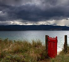 Beyond the red gate - Bruny Island, Tasmania by clickedbynic