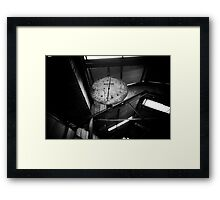 The Coal Scales Framed Print