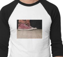 Sniked Sneakers Men's Baseball ¾ T-Shirt