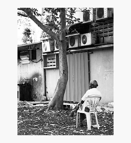 Sitting Alone - Peter Jackson Photographic Print