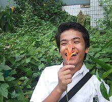 Flower Boy - Sam Tun by EveryoneHasHope