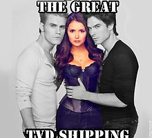 I survived the Great TVD Shipping Wars 2012 by Andiizzie