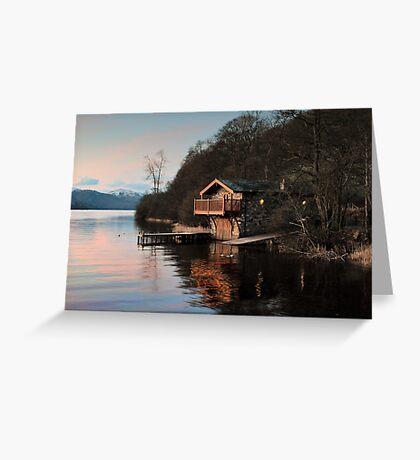Duke Of Portland Boathouse Greeting Card