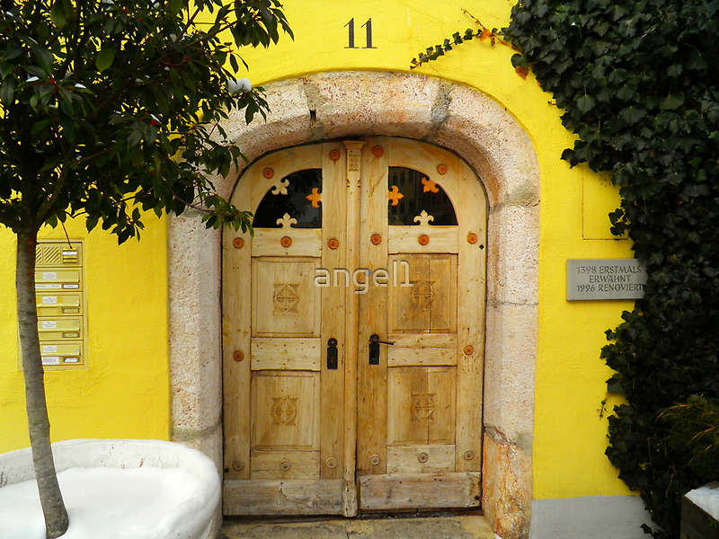 No. 11 ~ a yellow house from 1398 by ©The Creative  Minds