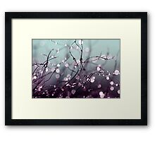 Beautiful wishes. Framed Print