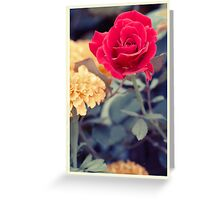 Flowers Yesteryear Greeting Card