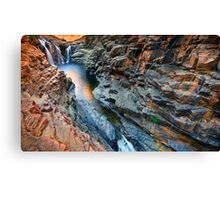 Lennard Gorge: A Wider View Canvas Print