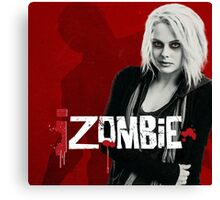 izombie tv series Canvas Print