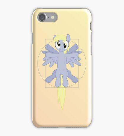 Vitruvian Mare - color iPhone Case/Skin