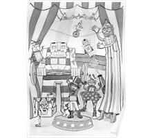 Robot Circus Poster