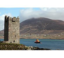 Achill RNLI Lifeboat Station Photographic Print