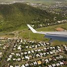 Lining up to land in Townsville by Chris Cohen