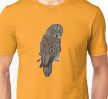 Magnificent Great Grey Owl Unisex T-Shirt