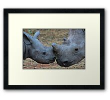 Mother and child! Framed Print