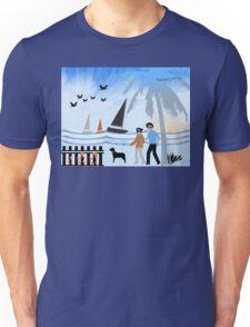 Seaside Stroll Unisex T-Shirt