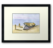 Rest at Shore Framed Print