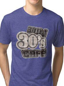 Love 30's Cafe Vintage T-Shirt Tri-blend T-Shirt