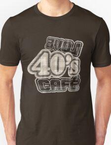 Love 40's Cafe Vintage T-Shirt T-Shirt
